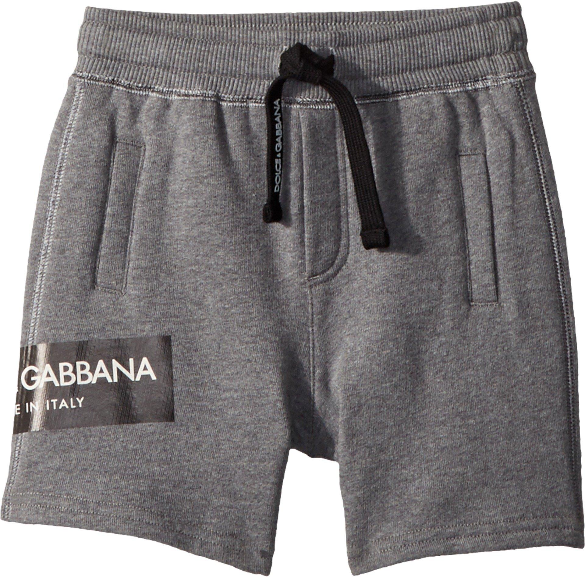 Dolce & Gabbana Kids Baby Boy's Bermudas (Infant) Grey 18-24 Months