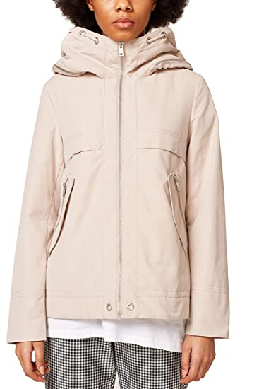 Esprit 038ee1g001, Chaqueta para Mujer, (Beige 270), X-Small