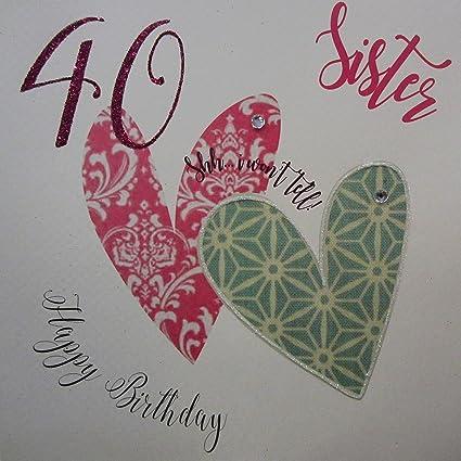 White Cotton Cards XSSH40S - Tarjeta de felicitación de 40 ...