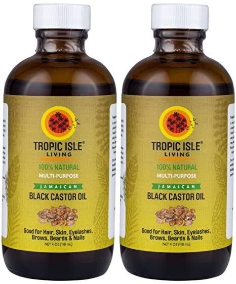 2f72f6300e9 Buy Tropic Isle Living Jamaican Black Castor Oil 4oz Pack of 2 Online at  Low Prices in India - Amazon.in