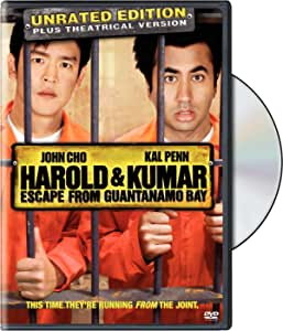 Harold and Kumar Escape from Guantanamo Bay (WS) (rated/unrated)