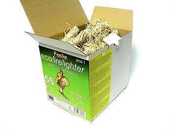Pastillas - Encendedores de barbacoa Feniks unidades en la caja 50 + 5=55, para chimeneas, estufas, barbacoas y fogatas: Amazon.es: Bricolaje y ...