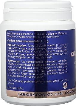 GSN Colageno, Magnesio, Vitamina C y Acido Hialuronico, sabor ...