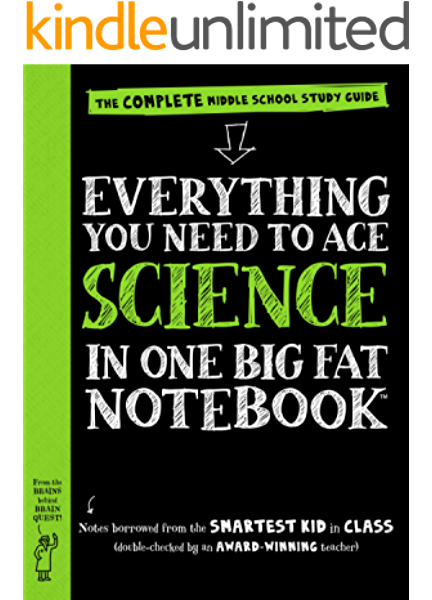 Everything You Need To Ace Science In One Big Fat Notebook The Complete Middle School Study Guide Big Fat Notebooks Kindle Edition By Workman Publishing Geisen Michael Madanes Sharon Children Kindle