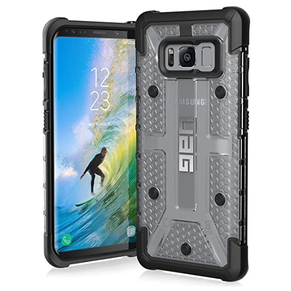 promo code adb58 d662b UAG Samsung Galaxy S8 [5.8-inch Screen] Plasma Feather-Light Rugged [ICE]  Military Drop Tested Phone Case