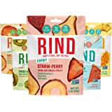RIND Snacks Dried Fruit Superfood Variety Pack with Tangy Kiwi, Straw-Peary, Coco-Melon, Orchard Blend, Tropical Blend, High