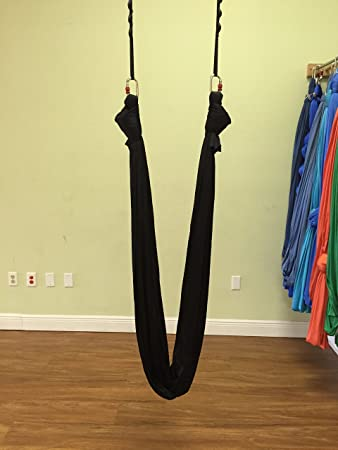 Amazon.com : Premiere Aerial Yoga Hammock (Yoga Swing/sling ...