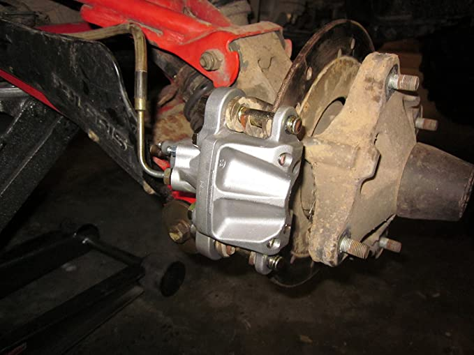 NICHE Brake Caliper Mounting Bracket For 2001-2006 Polaris Magnum Xpedition 325 330 425 500 1910680
