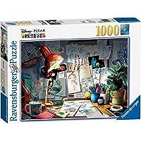 Ravensburger Disney Pixar: Rompecabezas El escritorio del artista, 1000 piezas