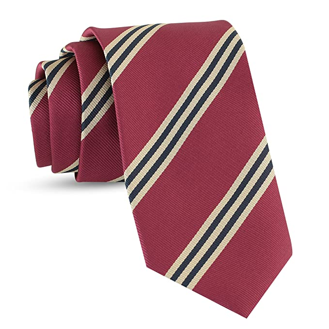 Men's 1920s Style Ties, Neck Ties & Bowties Handmade Striped Ties For Men Woven Slim Mens Ties Stripes Tie: Thin Necktie Stylish Neckties For Every Outfit $14.95 AT vintagedancer.com