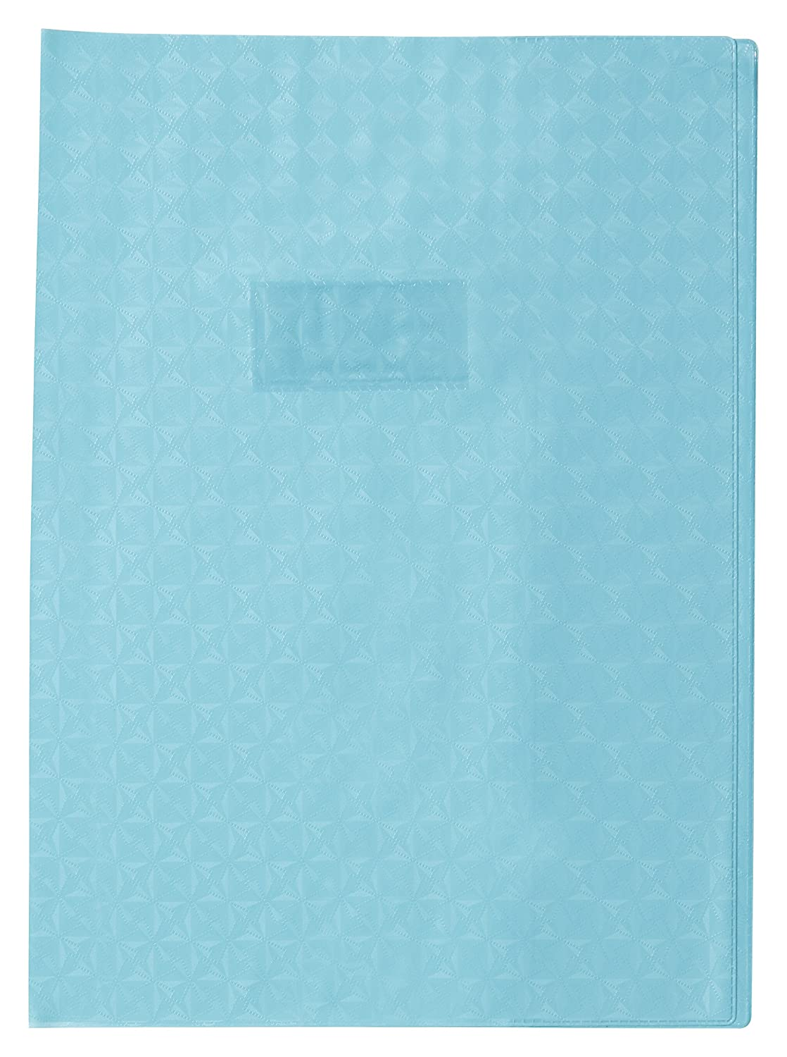 Red Label Holder Label Holder Clairefontaine A4 PVC Exercise Book Protector Diamond effect