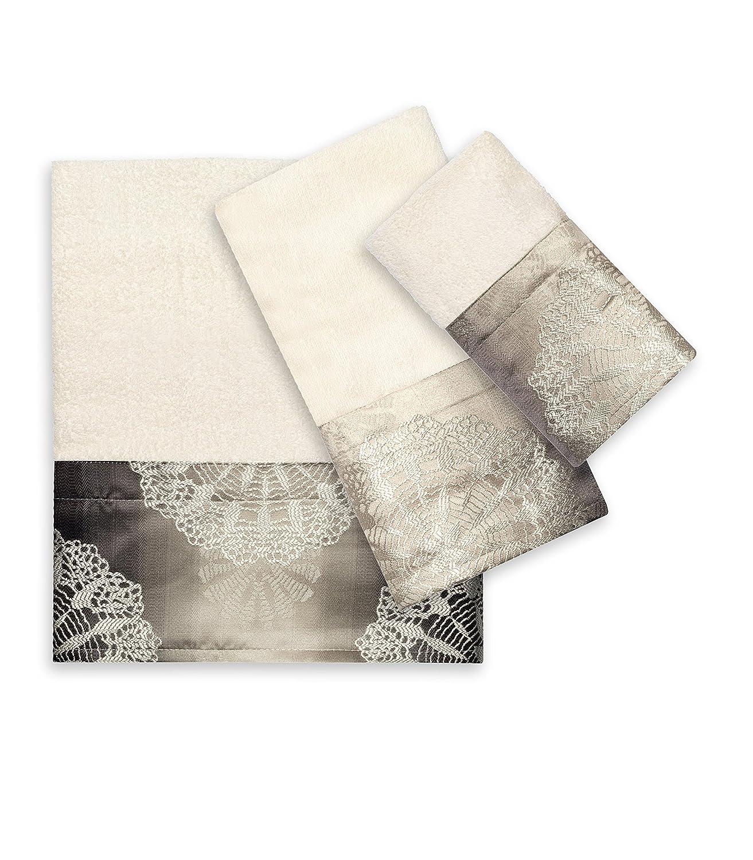 Popular Bath 817867 3 Piece Fallon Towel Set
