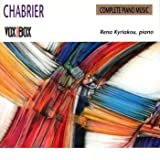 Chabrier;Piano Pieces