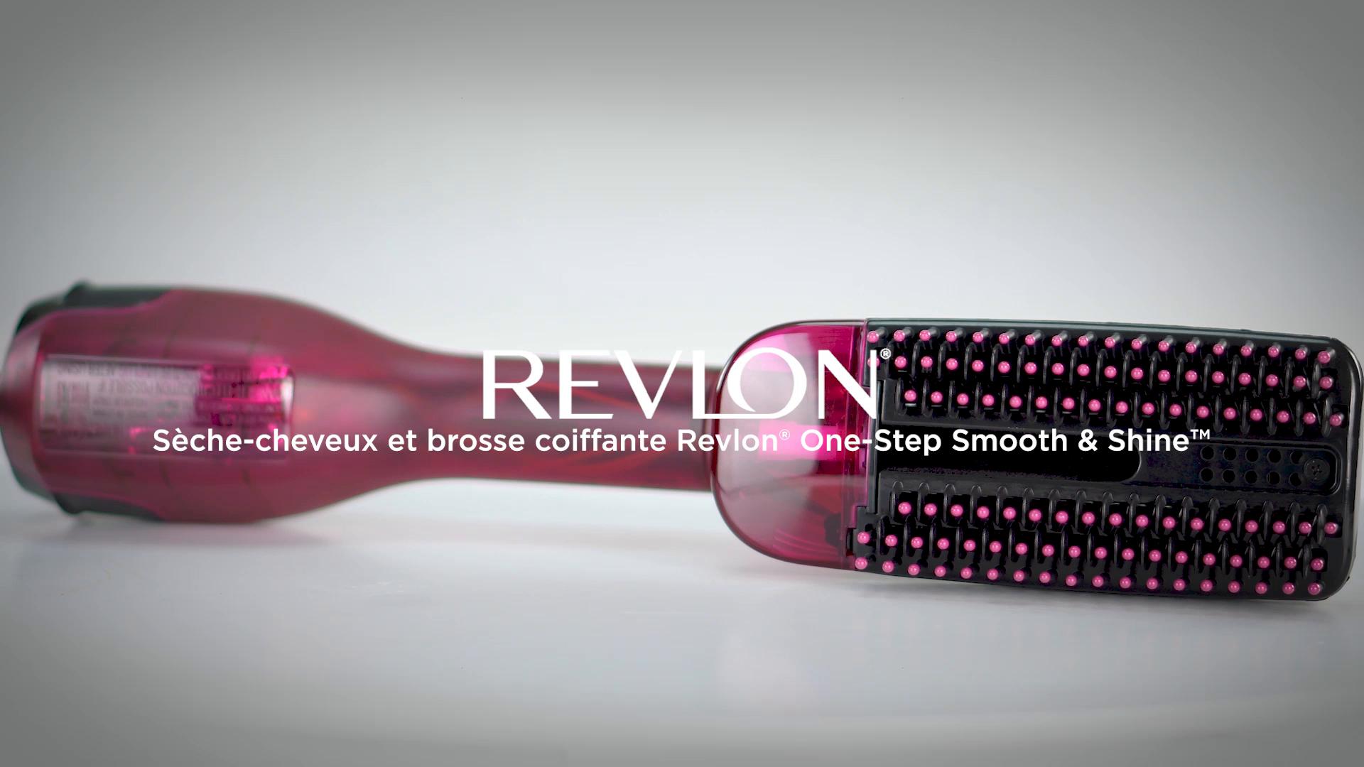 REVLON Sèche Cheveux Et Brosse Coiffante Revlon Pro Collection Salon One Step Smooth & Shine, Rvdr5232 Sèche Et Coiffe Pour Des Cheveux En Pleine