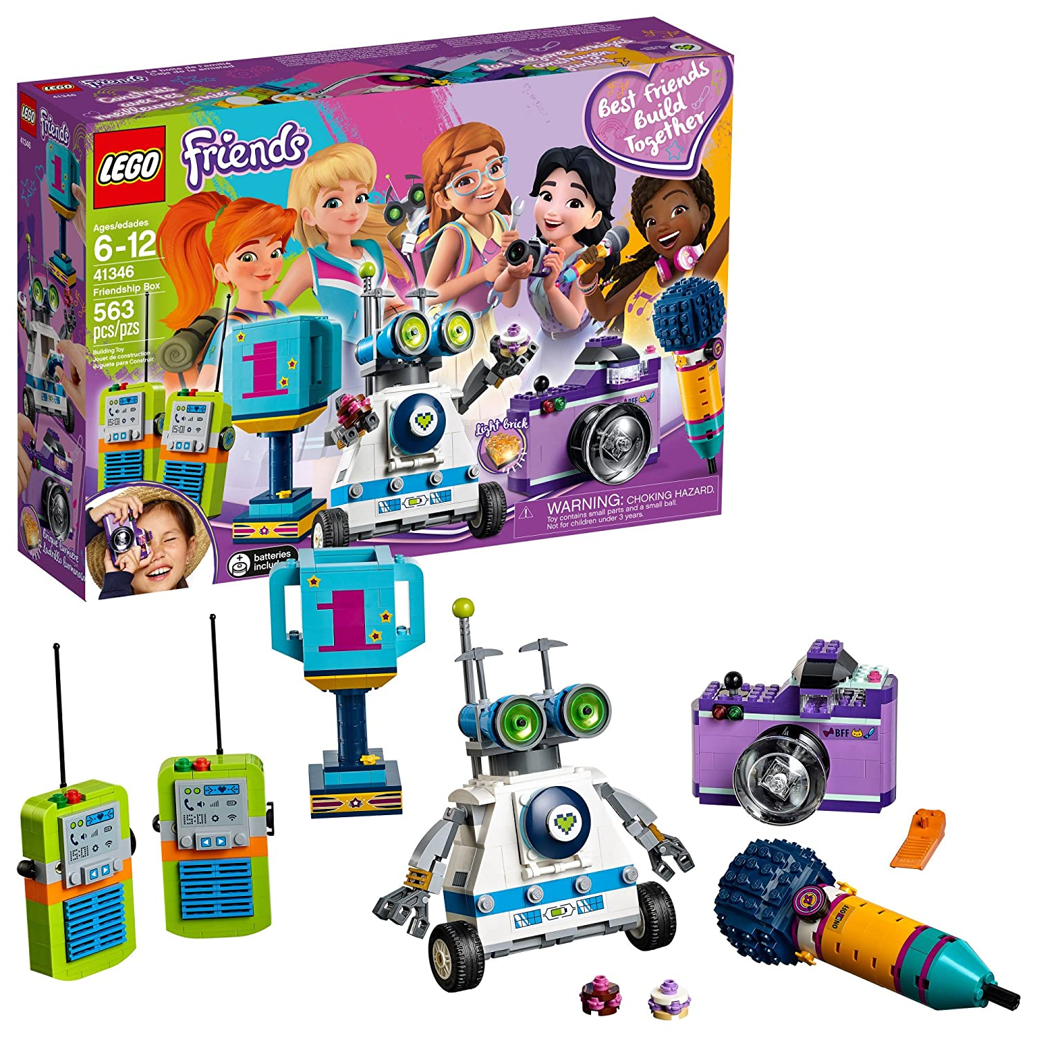 LEGO Friends Friendship Box 41346 Building Kit (563 Piece) 6213494