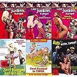 Erotik Classics LASS JUCKEN KUMPEL - Sexy Ruhrpott Collection 6 DVD Limited Edition DAS BULLENKLOSTER * MALOCHE BIER & BETT * ZWEI KUMPEL AUF DER ALM * 2 KUMPEL IN TIROL * BOHR WEITER KUMPEL