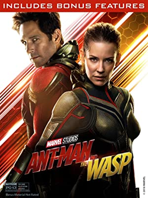 Ant-Man and the Wasp Blu-Ray DVD