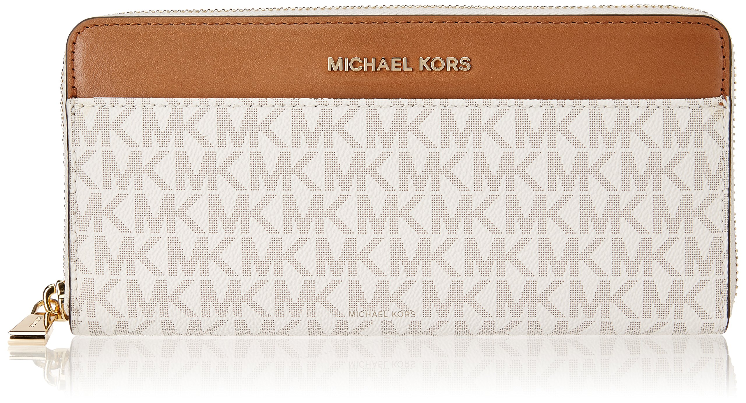 bc7ab888077f MICHAEL Michael Kors Mercer Logo Continental Wallet 32S7GM9E9B-150 ...