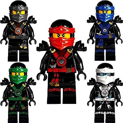LEGO®Ninjago: Conjunto de 5 Minifiguras Profundo Deepstone ...