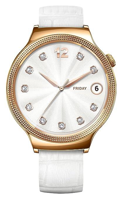 150 opinioni per Huawei Lady Gioiello Swarovski Smartwatch, Cinturino in Pelle, Quadrante