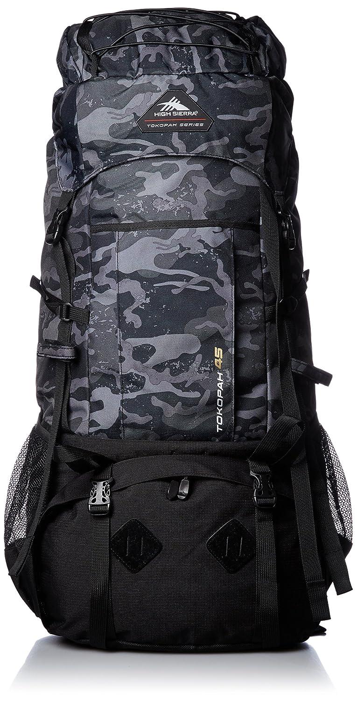 [ハイシェラ] バックパック 公式 トコポウ 45L B01MV02IGE カモフラージュ/ブラック カモフラージュ/ブラック
