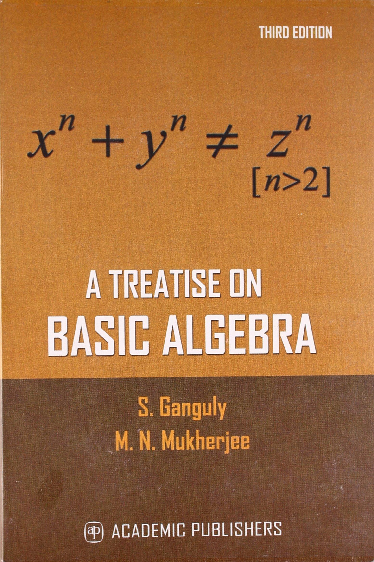A TREATISE ON BASIC ALGEBRA ebook