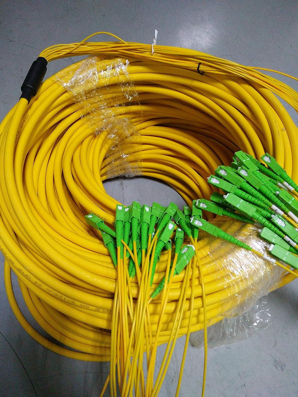 8 Fibres LC LC//APC SC SC//APC FC FC//APC monomode 9//125 10 m LC//APC