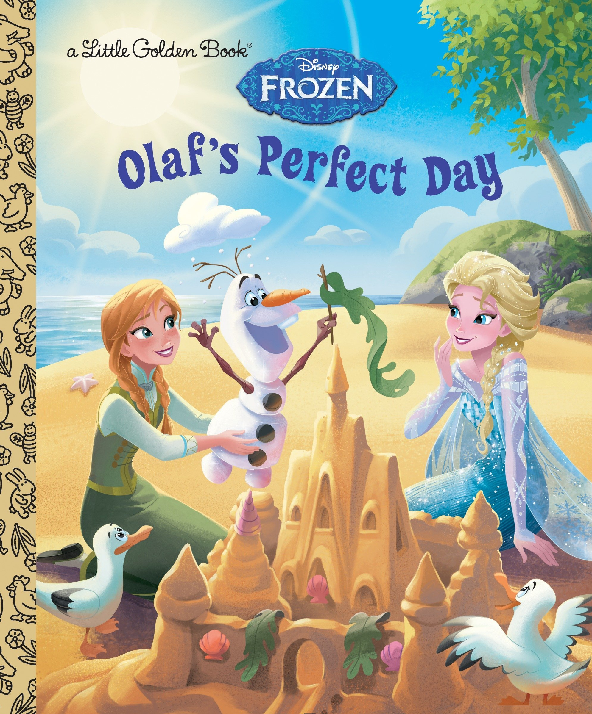 Read Online Olaf's Perfect Day (Disney Frozen) (Little Golden Book) pdf
