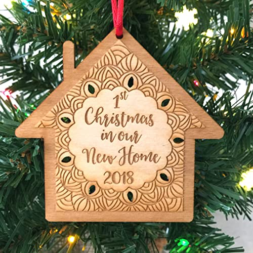 first christmas in our new home 2018 ornament - Amazon Christmas