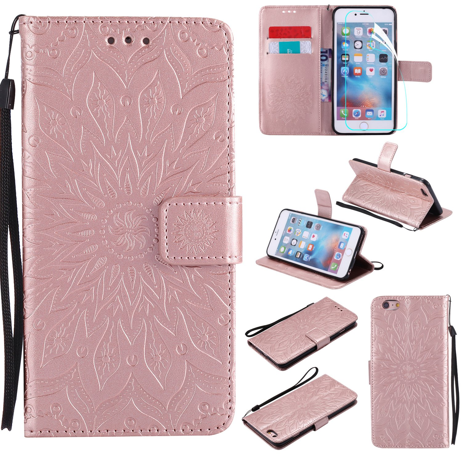 NOMO iPhone 6 Case with Screen Protector,iPhone 6S