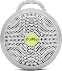 Marpac Hushh For Baby, Portable White Noise Sound Machine, Electronic, Gray by Marpac