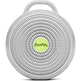 Marpac Hushh Portable White Noise Machine for Baby | 3 Soothing, Natural Sounds with Volume Control Baby-Safe Clip…