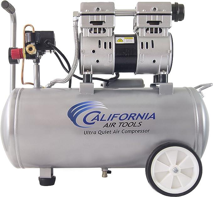 Compresores de Aire CALIFORNIA AIR TOOLS Silencioso - Cap. 8.0 Galones