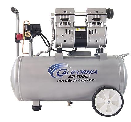California Air Tools 8010 Ultra silencioso y sin Aceite compresor de aire 1.0 HP depósito de