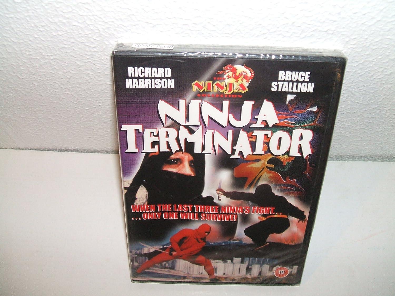 Ninja Terminator - Richard Harrison, Bruce Stallion DVD ...