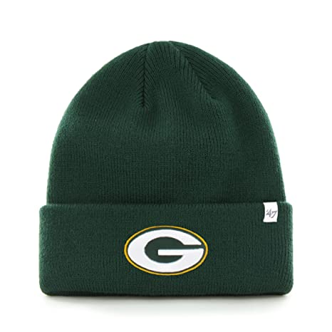 058c9ba61 Image Unavailable. Image not available for. Color  Men s  47 Brand Green  Bay Packers Cuffed Knit Hat ...