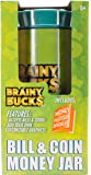 Brainy Bucks Bill and Coin Money Jar