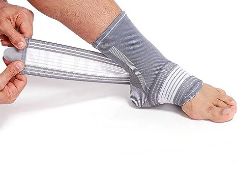 Chevillière de marque Neotech Care - Compression AJUSTABLE - Protège-cheville  pour gym sport - Ultra léger 3d2c9370bdb