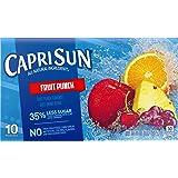 Capri Sun Juice Drink, Fruit Punch, 10-Count, 6-Oz
