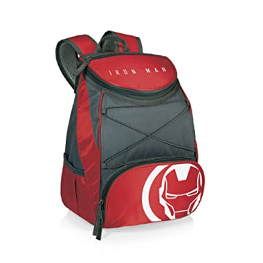 Marvel Iron Man PTX Backpack Insulated Cooler Backpack, Red