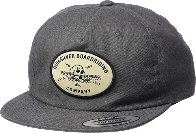 QUIKSILVER Mens Wave Remains HAT, Black, 1SZ: Amazon.es: Ropa y ...
