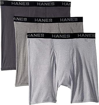 Hanes Men S Core Cotton Boxer Briefs Pack At Amazon Men S Clothing