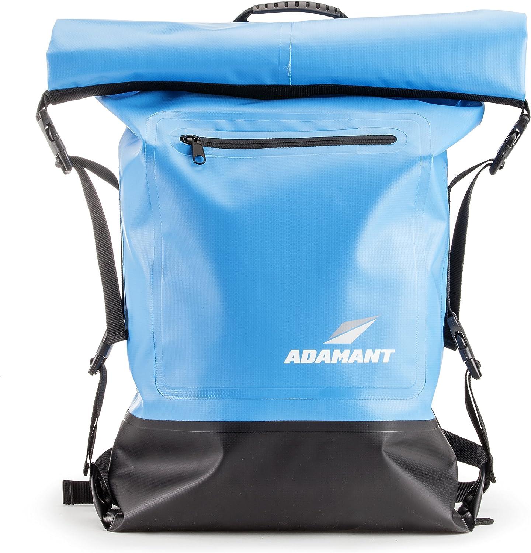 Adamant - X-Core Waterproof Dry Bag Backpack, Blue
