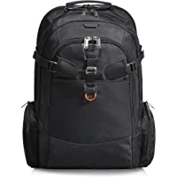 EVERKI Business 120 Travel Friendly Laptop Backpack, up to 18.4-Inch, Black, 18.4 inches, EKP120