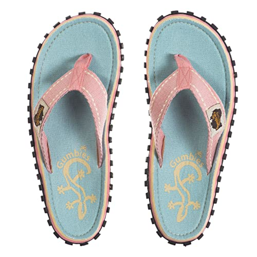 34f8253c5842 Image Unavailable. Image not available for. Color  Gumbies - Islander  Canvas Flip-Flops ...