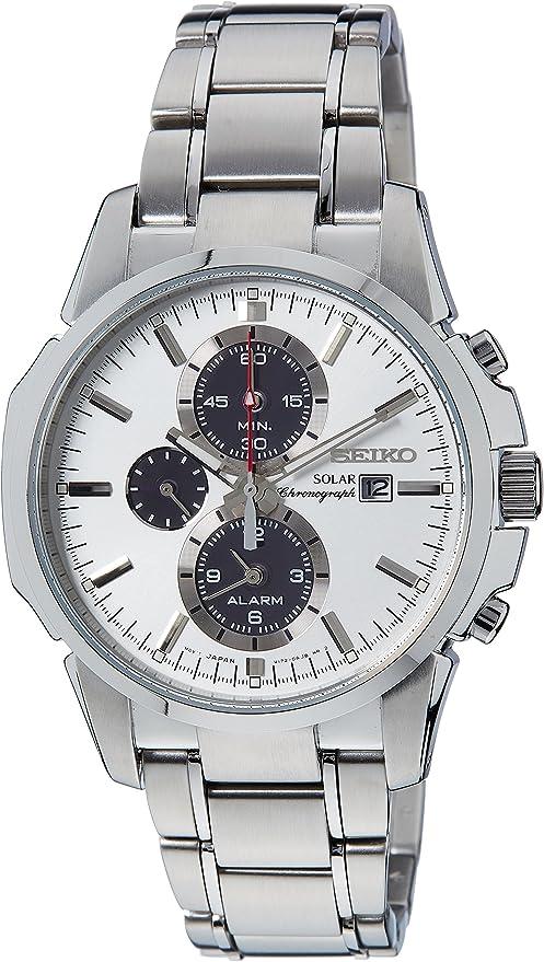 [セイコー]SEIKO 腕時計 ソーラー アラームクロノ メンズ SSC083P1[逆輸入品]