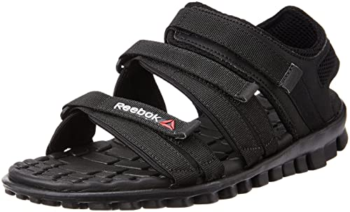 c7b133c9b Reebok Women s Chrome Flex Black Athletic   Outdoor Sandals - 4 UK India  (37 EU)(6.5 US)  Buy Online at Low Prices in India - Amazon.in