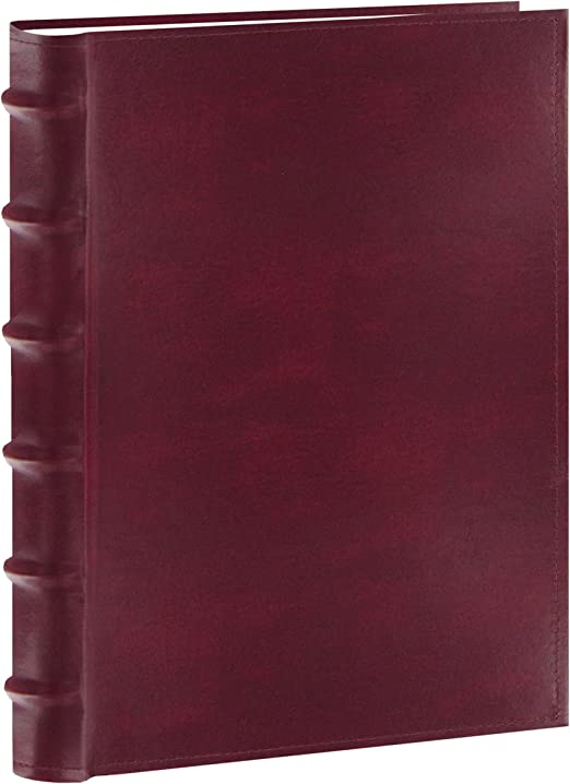Burgundy CLB-346//BG Pioneer Photo Albums 300-Pocket European Bonded Leather Photo Album for 4 by 6-Inch Prints