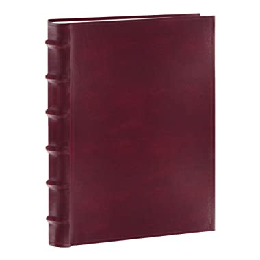 Pioneer Photo Albums 300-Pocket European Bonded Leather Photo Album for 4 by 6-Inch Prints, Burgundy