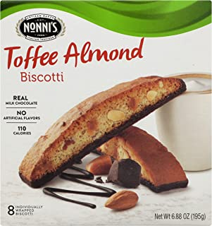 product image for Nonni's Biscotti, Toffee Almond, 8 Count, 6.88 Ounce
